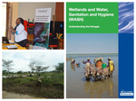 Freshwater Conservation-WASH Community of Practice Webinar